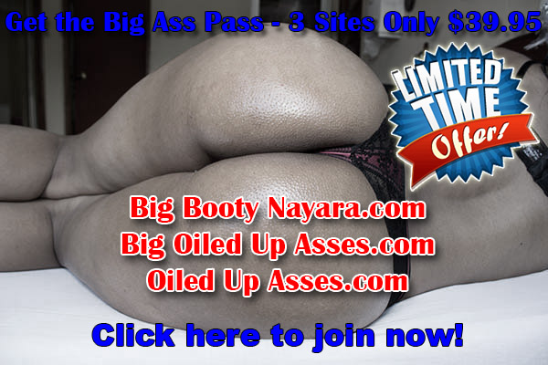 Get the Big Ass Pass - 3 Premium Big Booty Websites For Only $39.95