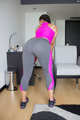 Grey Workout Suit